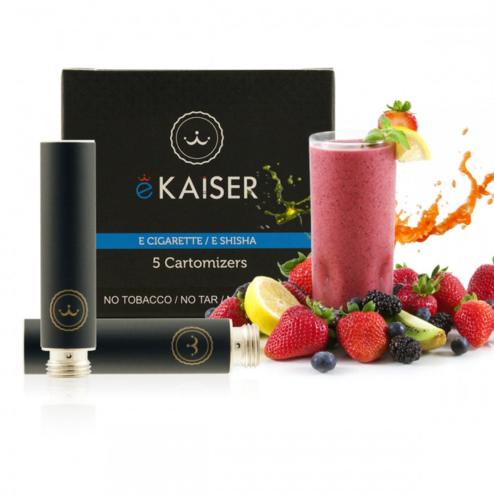 Cigarette Cartomizers,5 Pack,Fruits Mix,eKaiser