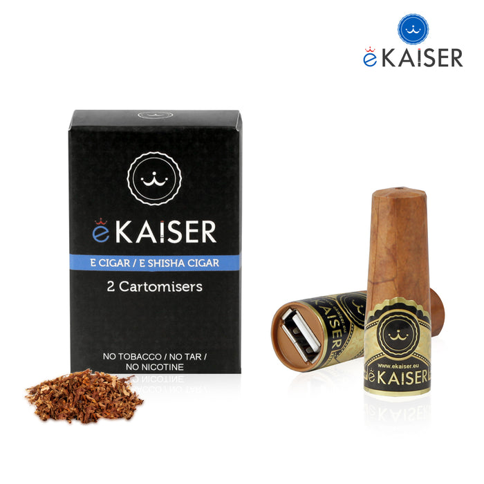 Cigar Cartomizers,2 Pack,Classic Tobaco,ekaiser