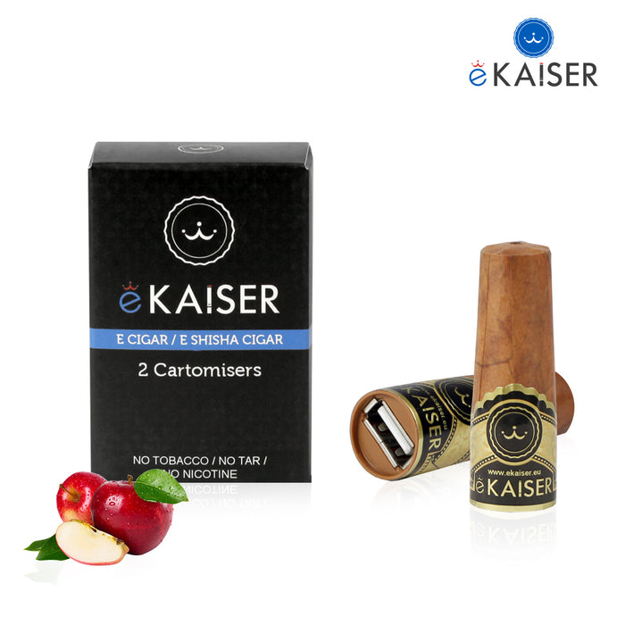 Cigar Cartomizers,2 Pack,Apple,ekaiser