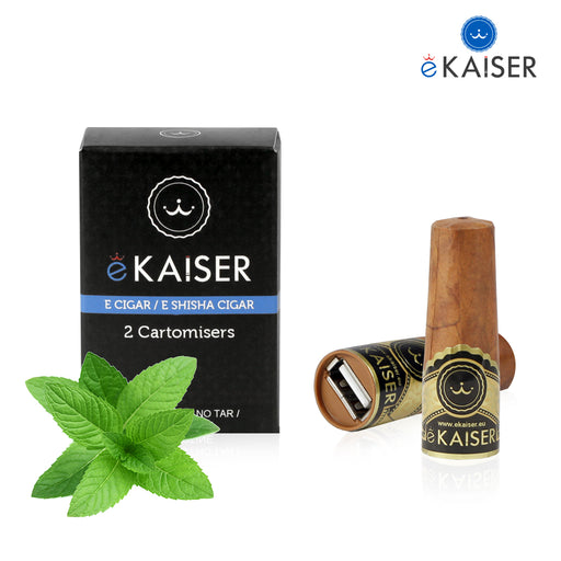 Cigar Cartomizers,2 Pack,Menthol,ekaiser