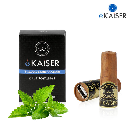 Cigar Cartomizers,2 Pack,Mint,ekaiser