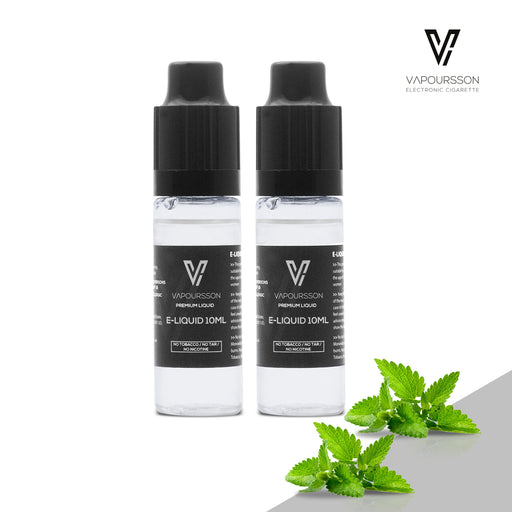 E-liquids,0mg,10ml,2 Pack,Vapoursson,Mint
