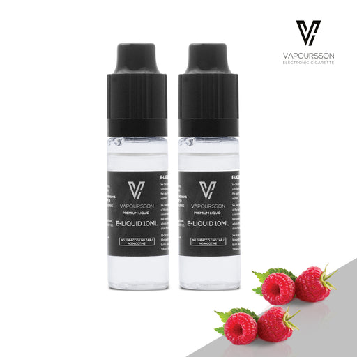 E-liquids,0mg,10ml,2 Pack,Vapoursson,Raspberry