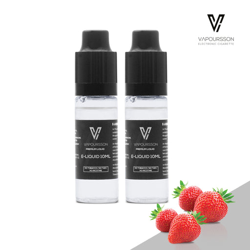 E-liquids,0mg,10ml,2 Pack,Vapoursson,Strawberry