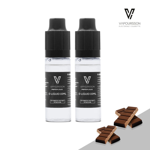 E-liquids,0mg,10ml,2 Pack,Vapoursson,Chocolate