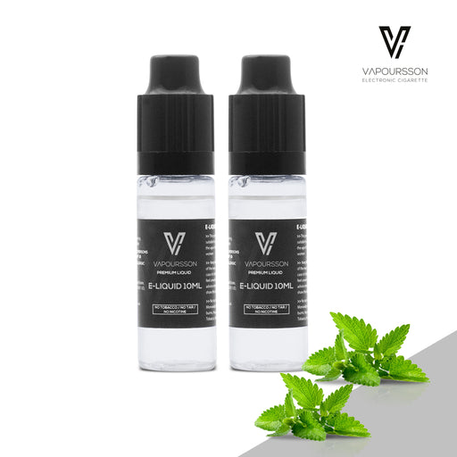 VAPOURSSON 2 X 10ml E Liquid | Spearmint |