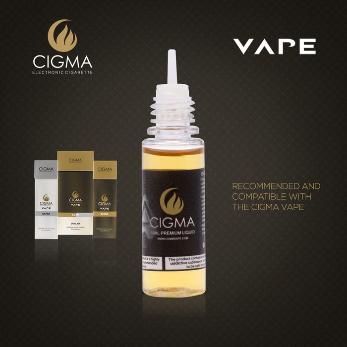 Cigma e-Liquid - Blueberry 6mg 10ml Bottle | Cigee