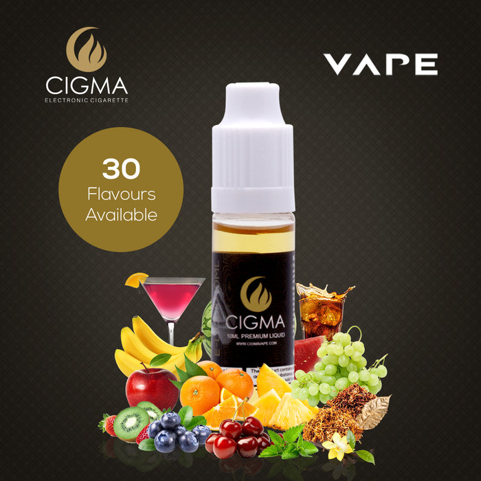 CIGMA Cherry 3mg/ml(70PG) 10ml Bottle | Cigee