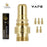 Vape Coil, Extra Battery, 5 Pack, Gold, Cigma