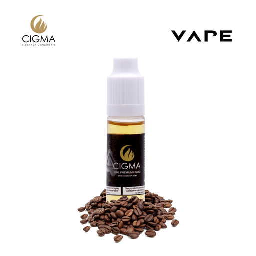 E-liquids,12mg,10ml,Cigma,Coffee