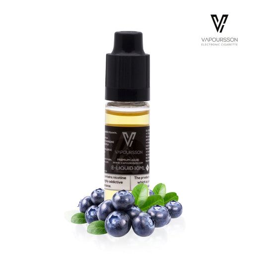 E-liquids,12mg,10ml,Vapoursson, Blueberry