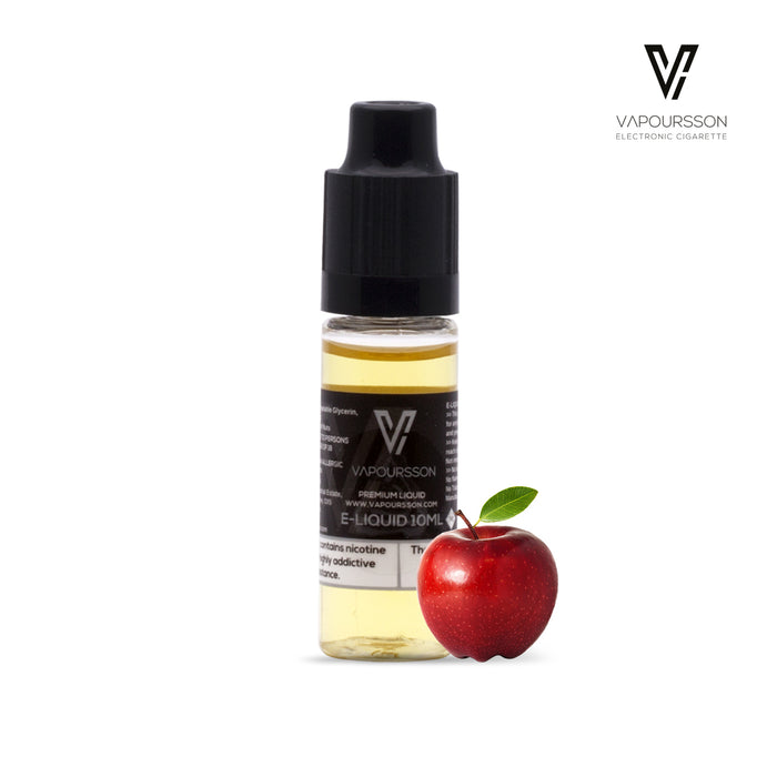 E-liquids,12mg,10ml,Vapoursson,Apple