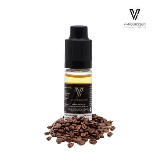 E-liquids,12mg,10ml,Vapoursson,Coffee