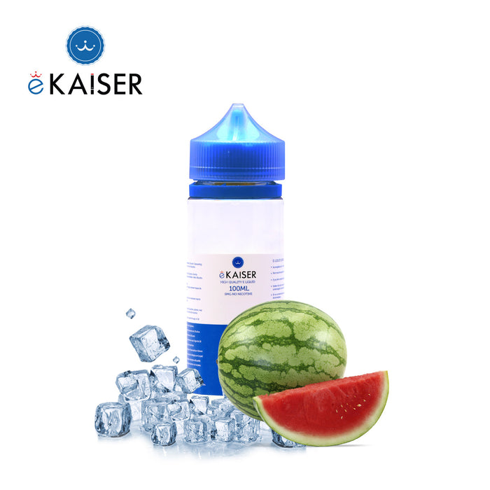 eKaiser 100ml Short Fill 0mg Ice Watermelon E-liquid | Cigee