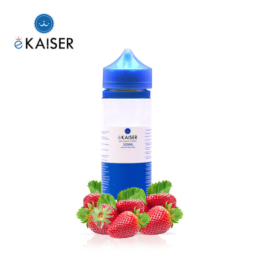 Shortfill, 100ml, 0mg, eKaiser, Strawberry