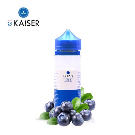 Shortfill, 100ml, 0mg, eKaiser, Blueberry