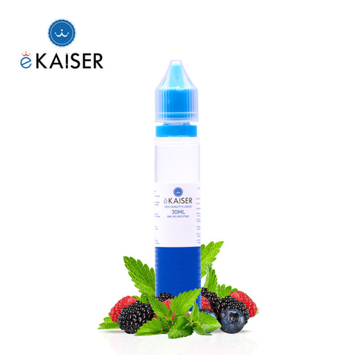 Shortfill, 30ml, 0mg, eKaiser, Berry Mint