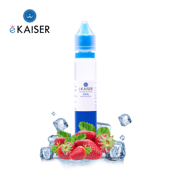 Shortfill, 30ml, 0mg, eKaiser, Ice Strawberry