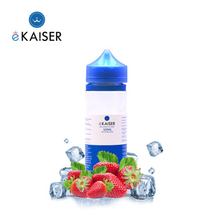 eKaiser 100ml Short Fill 0mg Ice Strawberry E-liquid | Cigee