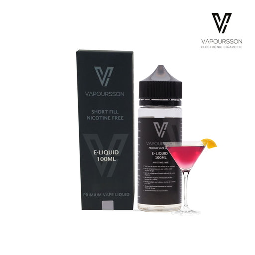 Vapoursson e-Liquid - Cocktail 0mg 100ml Shortfill | Cigee