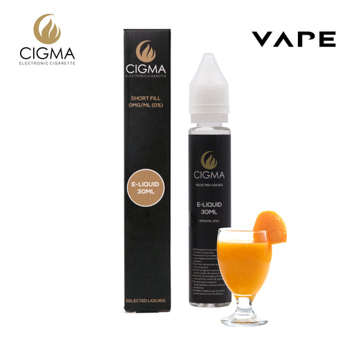 Cigma e-Liquid - Mango Smoothie 0mg 30ml Shortfill | Cigee