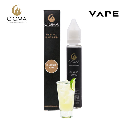 E-liquids,0mg,30ml,Cigma,Lemon Soda