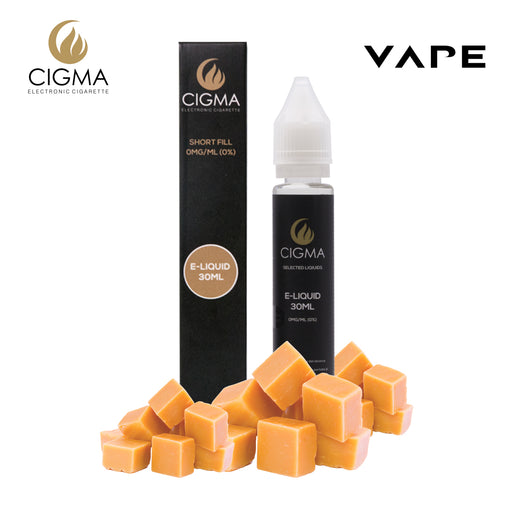 E-Liquid,Shortfill,30ml,0mg,Cigee,Butterscotch