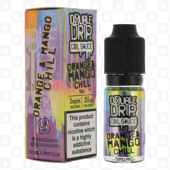 Double Drip - Coil Sauce - Orange And Mango Chill - 3mg - 10ml