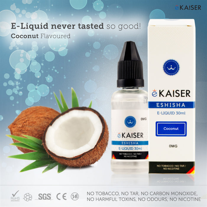 E liquid |Blue eKaiser Range | Coconut Gum 30ml | Refill For Electronic Cigarette & E Shisha - eKaiser - CIGEE