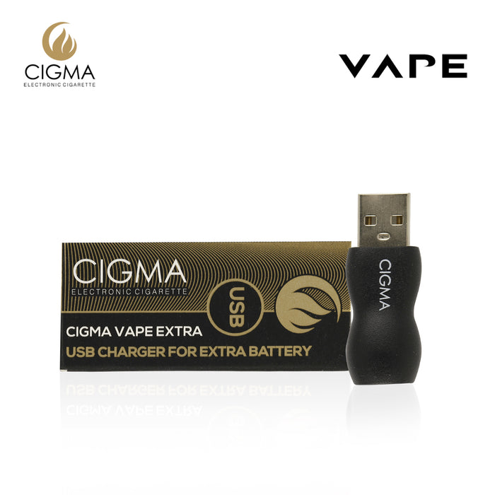 Cigma Vape USB For Extra Battery | USB Charger | Power adapter