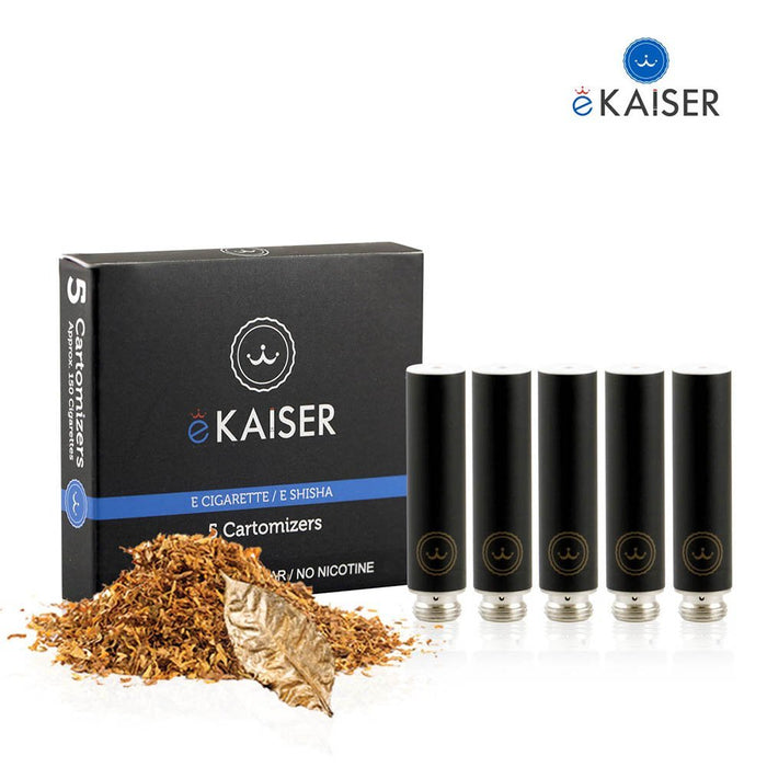 Ekaiser 5 pack Cartomizer Cigarette Tobacco