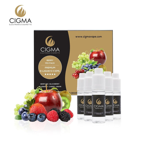 Berry mix 5 pack Liquid CIGMA
