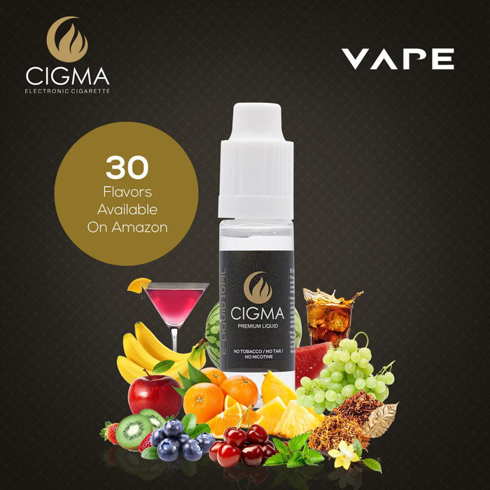 Cigma e-Liquid - Berry Mix 0mg 10ml Bottle x 5 Pack | Cigee
