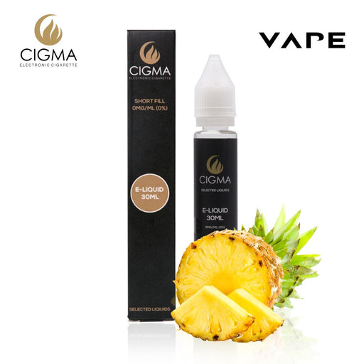 Shortfill, 30ml, 0mg, Cigma, Pineapple