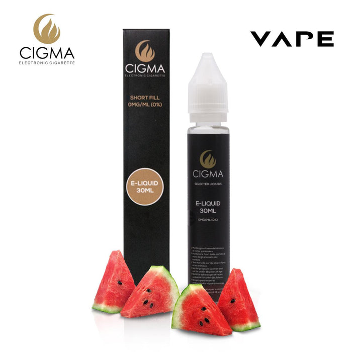 Shortfill, 30ml, 0mg, Cigma, Watermelon