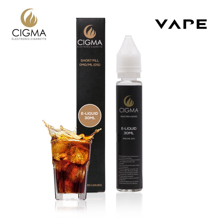 Shortfill, 30ml, 0mg, Cigma, Cola