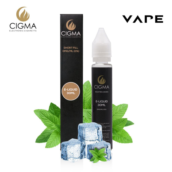 Shortfill, 30ml, 0mg, Cigma, Menthol
