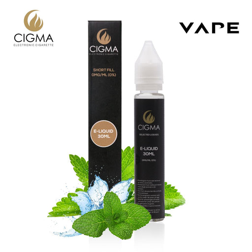 Shortfill, 30ml, 0mg, Cigma, Strong Mint