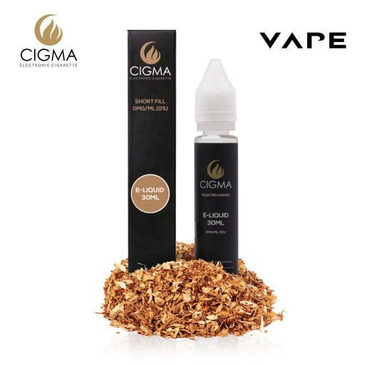 Shortfill, 30ml, 0mg, Cigma, USA Tobacco