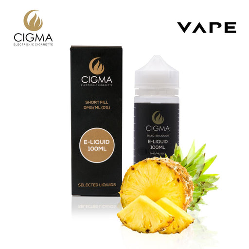 Shortfill, 100ml, 0mg, Cigma, Pineapple