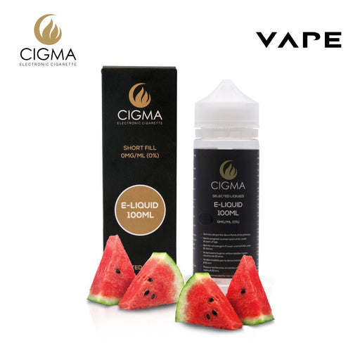 Shortfill, 100ml, 0mg, Cigma, Watermelon