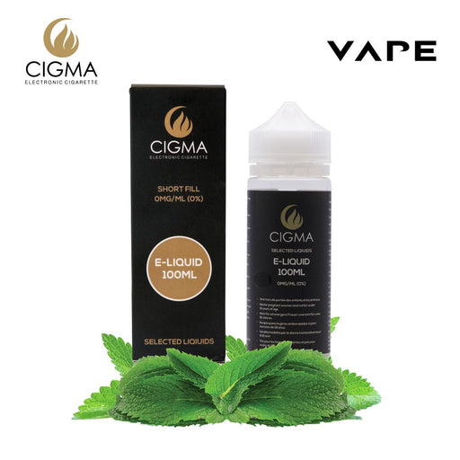 CIGMA Double Mint 100ml E Liquid 0mg