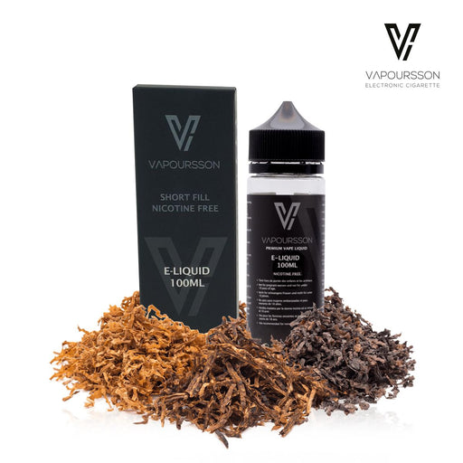 Shortfill, 100ml, 0mg, Vapoursson, Tobacco