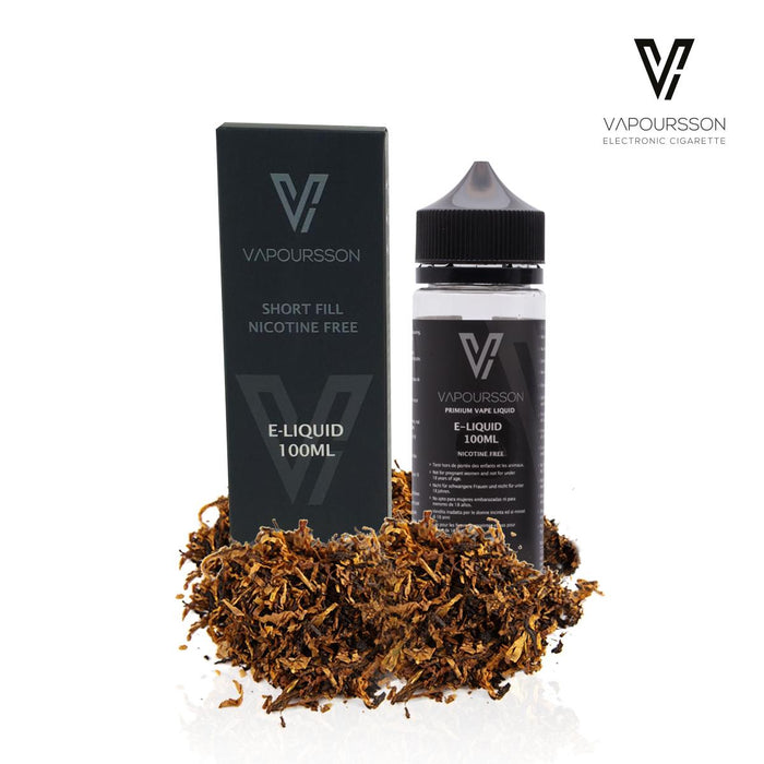 Shortfill, 100ml, 0mg, Vapoursson, Classic Tobacco