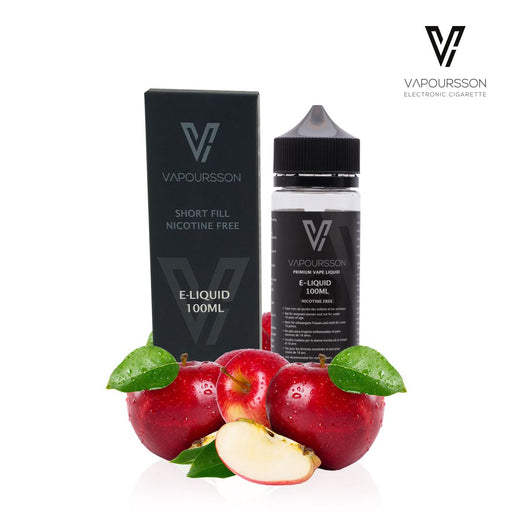 Shortfill, 100ml, 0mg, Vapoursson, Double apple