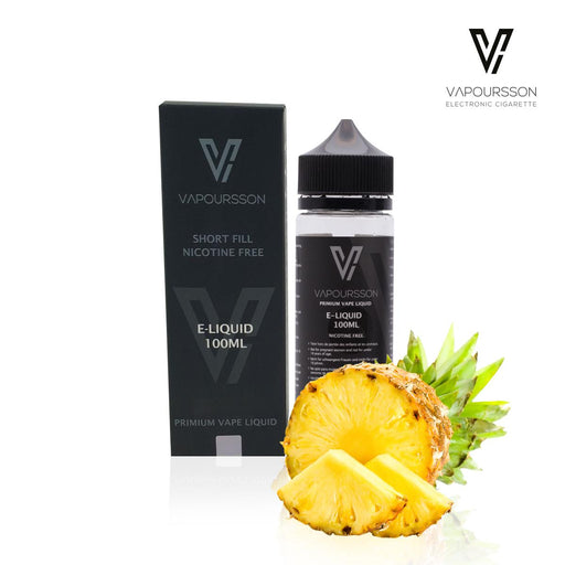 Shortfill, 100ml, 0mg, Vapoursson, Pineapple
