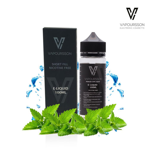 Shortfill, 100ml, 0mg, Vapoursson, Mint Blast