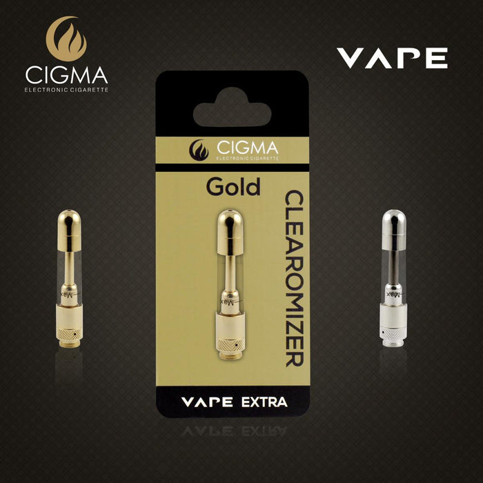 Cigma Clearomizer for Cigma Vape e-Cigarette - Extra - Gold | Cigee