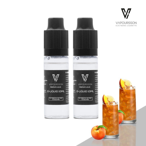 E-liquids,0mg,10ml,2 Pack,Vapoursson,Juicy Peach