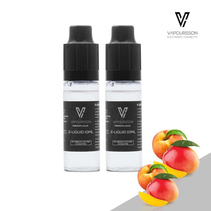 VAPOURSSON 2 X 10ml E Liquid | Mango & Peach |